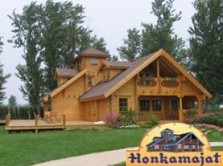 Деревянные финские домики