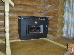 Газовое отопление в деревянном доме