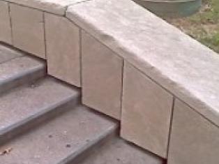 Как отремонтировать бетонные ступени