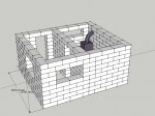 Малозаглубленный тип фундамента для бани