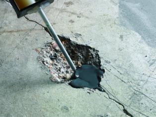 Разборка бетонного пола