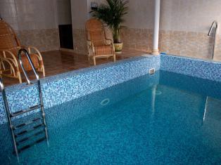 Как сделать бассейн в сауне