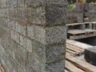 Как сделать стены из арболита