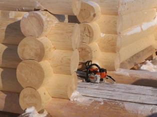 Технология постройки деревянных домов ручной рубки